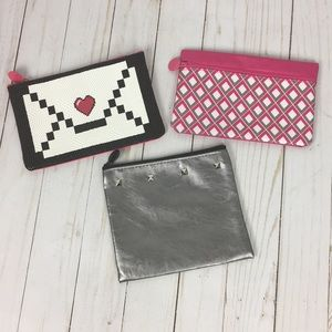 3 Ipsy Makeup Bag Bundle